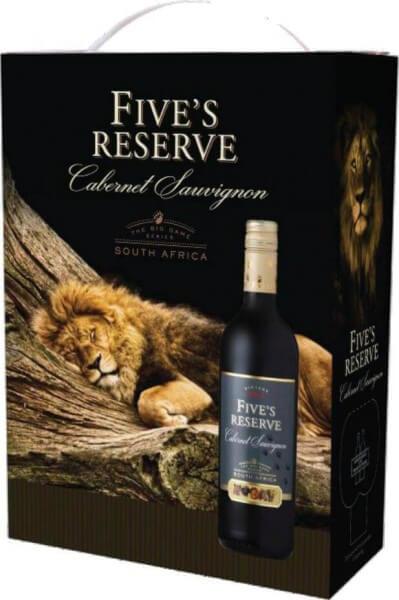 Van Loveren Fives Reserve Cabernet Sauvignon Bag in Box 3 Liter
