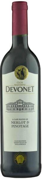 Clos Malverne Devonet Merlot Pinotage