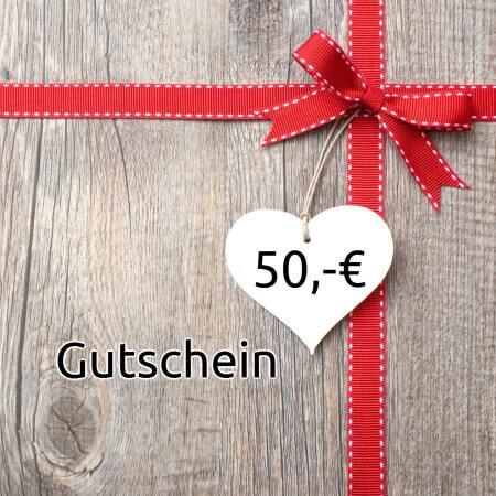 Geschenkgutschein 50,00 Euro