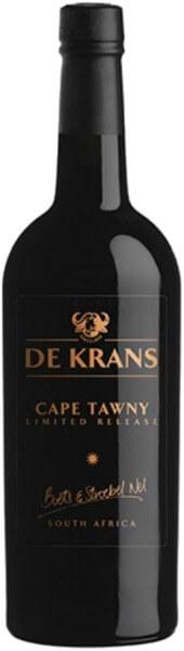 De Krans Cape Tawny Limited Release